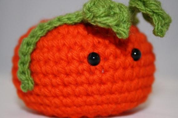 Halloween Pumpkin Amigurumi : Halloween amigurumi pumpkin