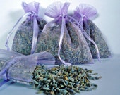Organically Grown Lavender Sachets -  20 for 20 dollars