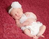 Ruffle Bikini Top - Newborn to 24 Months - You Pick Color