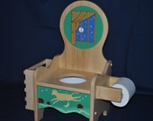 Potty Chair  Good Night Moon Custom Design