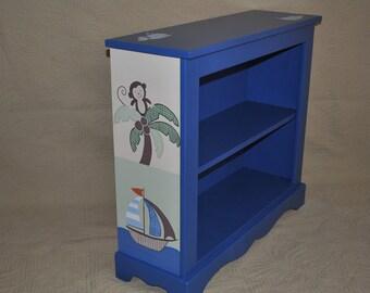 Bookcase - Custom Painted - Ahoy Mate Design