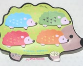 Hedgehog Kawaii Point Marker Post It Notes