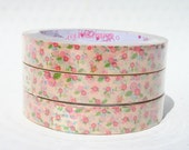 Kawaii Flowers Decorative Tape