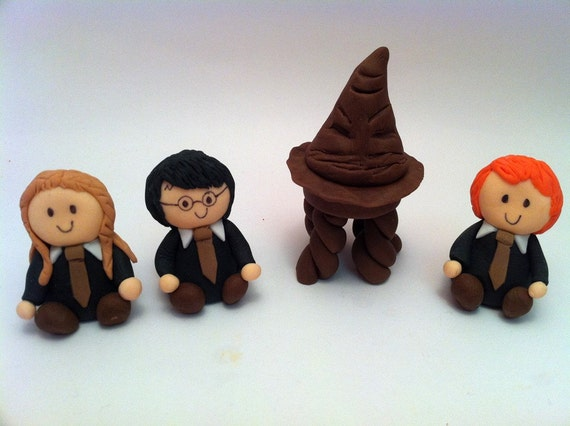 harry potter cake decorations sorting hat fondant cake topper harry potter by 4729