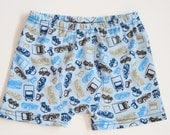 Boxer Brief Cars and Trucks size 3 4