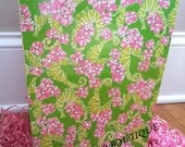 Seaside Preppy - Lilly Pulitzer Print Wastebasket