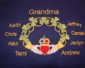 Claddagh for Grandma Nana Mom Grandpa Dad for Christmas
