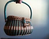Wicker Handbag - Tiny and Adorable