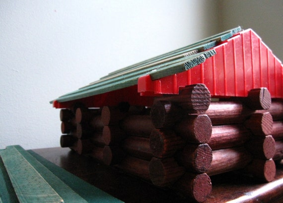 Lincoln Logs by Playskool 1974 - Frontiersman Set