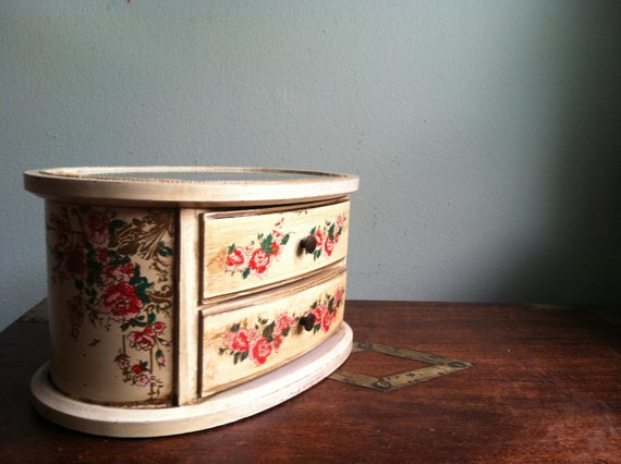 Beautiful Antique Jewelry Box