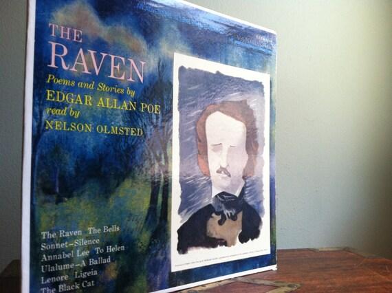 The Raven - Edgar Allen Poe- Record Album 33 LP