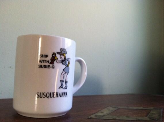 Vintage Susie-Q Susquehanna Railroad Mug