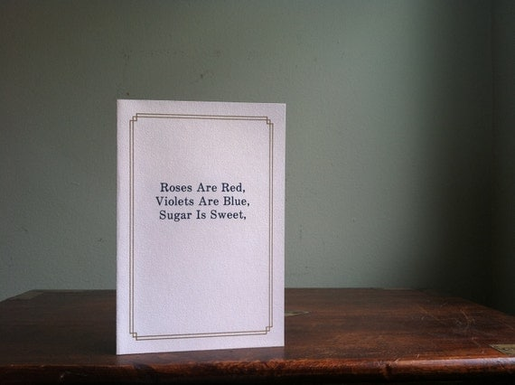 Super Funny Vintage Greeting Card by Anonymously Yours - Love