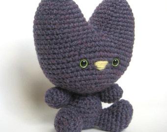 Amigurumi Crochet Silly Cat Pattern