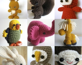 Amigurumi Crochet Pattern Deal