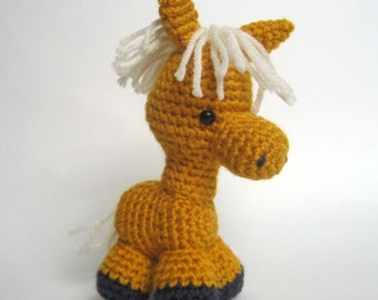 Amigurumi Crochet Pony Pattern