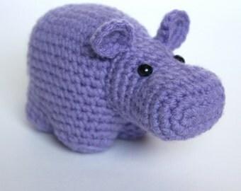 Amigurumi Crochet Hippo Pattern