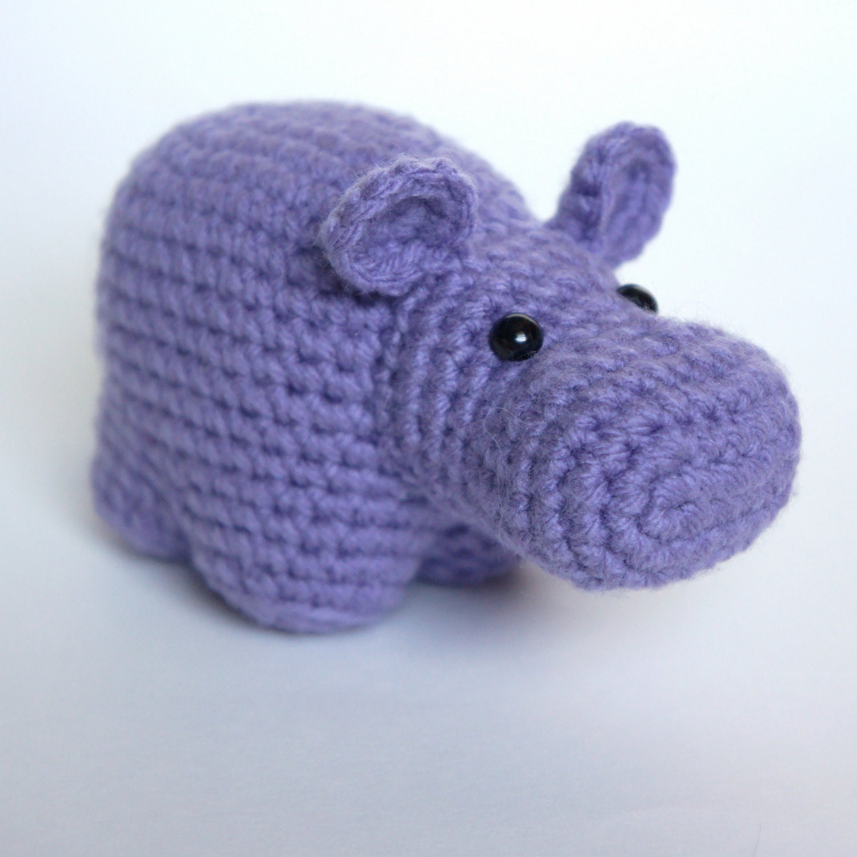 Crochet Pattern Free Hippo : Amigurumi Crochet Hippo Pattern