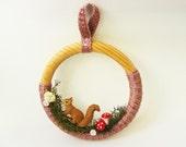 Woodland Creatures Wreath