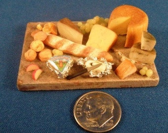 Elegant fruit and cheese tray...