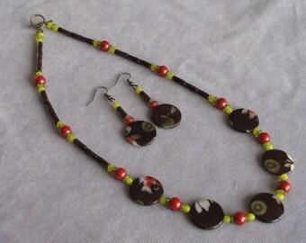 Oriental Flair Necklace Set