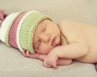 Baby Photo Prop Squigglies Hat - Custom Order