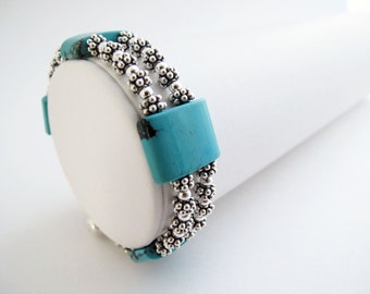 Turquoise Tiles and Lots of Silver