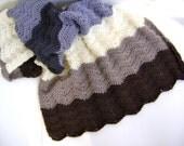 Crochet Baby Blanket Pattern for Earth & Thunder - Easy for the Advanced Beginner INSTANT DOWNLOAD