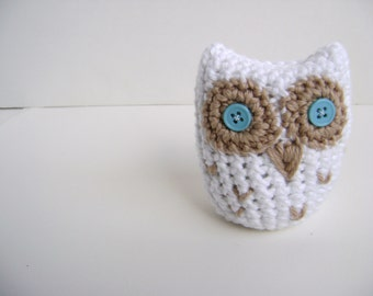 Crochet Hoot Owl Toy PATTERN - Great Party Favor for Graduation - INSTANT DOWNLOAD