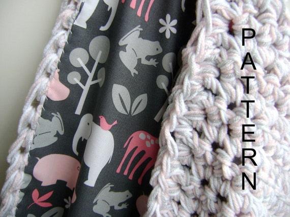 Crocheting Blanket Patterns For Beginners Crochet Baby Blanket Pattern