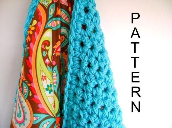 Crochet Reversible Baby Blanket Pattern - Easy Advanced Beginner Pattern ON SALE - Reg 7