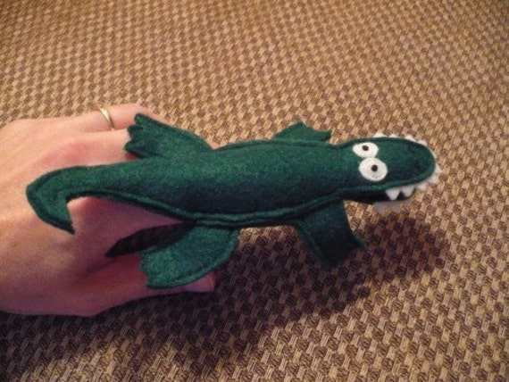 SAM Finger Puppets - Alligator