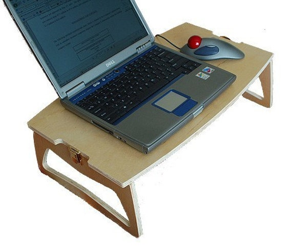Laptop Bed Desk Bedtime puter Table Folding Portable Tray