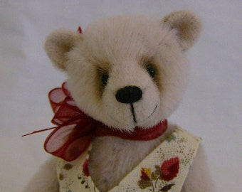 Forget-me-not complete sewing kit for a miniature bear