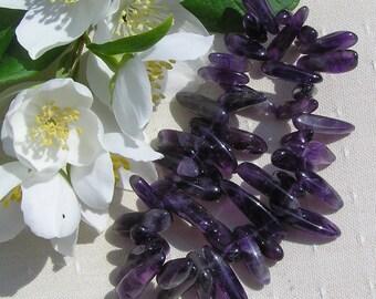 Purple Amethyst Crystal Gemstone Elasticated Bracelet, Special Offer Price, Amethyst Bracelet, Purple Bracelet, Sagittarius Bracelet, Chakra