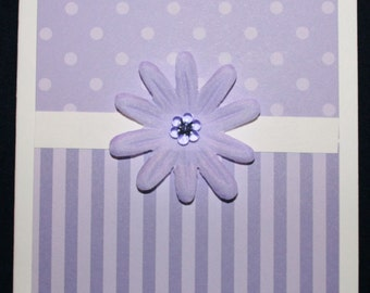 Lavender Flower All Occasion Card