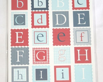 96 Sam Collection Kids Quilt Alphabet Stickers by Making Memories