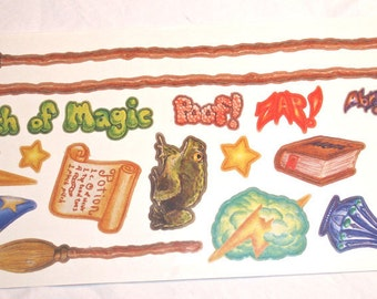 Wizardery Stickers from Carolees Creations