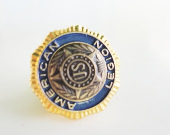Collectible vintage  American Legion Pin Pat.54296 US