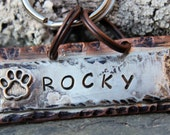 Rocky Pet ID Tag Personalized with your pets name number and address
