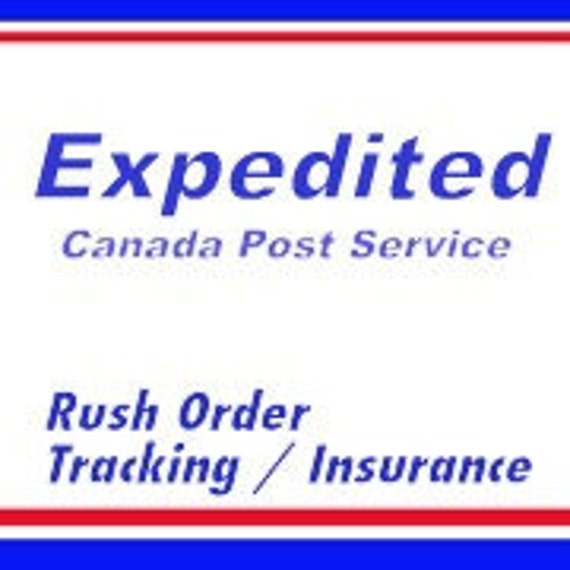 Rush Order : Expedited Shipping