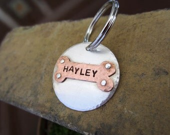 Custom Dog Tag in Sterling Silver
