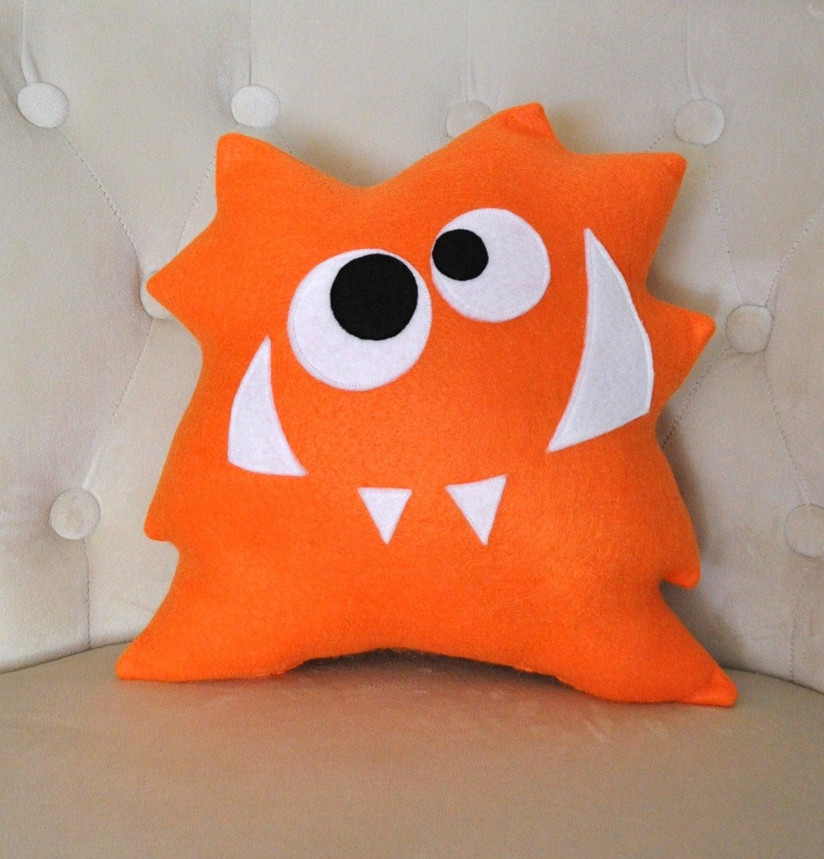 Nom Nom Monster Plush Pillow New Design Monster Pillow