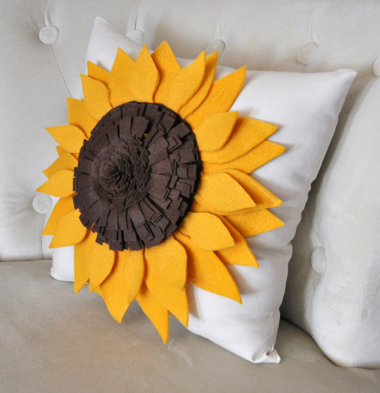 Подушки с цветами своими руками выкройки фото