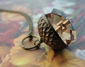 DIY acorn neklace...simple project..18 inch neklace...1 DIY kit