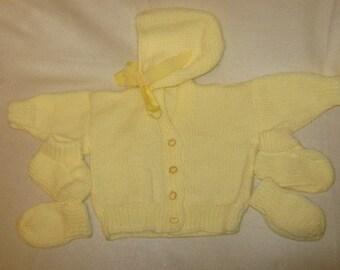 a lemon babys set