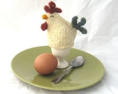 chicken egg cosy - set of two egg cozies