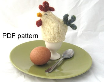 Knitted Chick Egg Cosy Pattern : Egg cosy Etsy