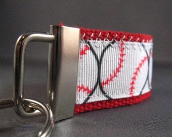 Baseball Mini Key Fob