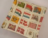 Old World Flags Tray